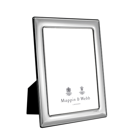 Mappin & Webb Albany Silver 8 x 6 inch Plain Photo Frame