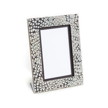 Unisex - Silver and Mokume Gane Photo Frame