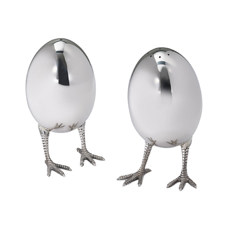Eggs on legs Salt & Pepper Mill Set