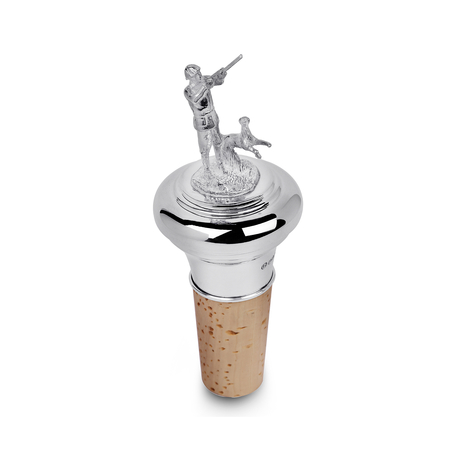 Shooting Figure Bottle Stopper