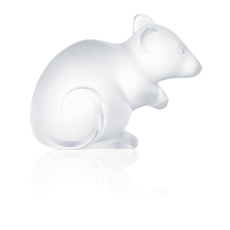 Lalique Mouse Figure