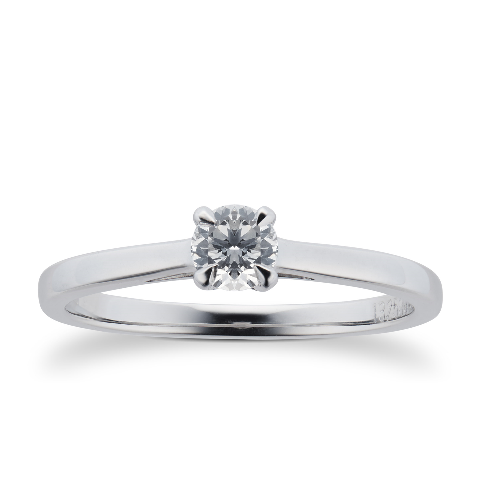 Mappin & Webb Belvedere Platinum 0.33ct Diamond Engagement Ring