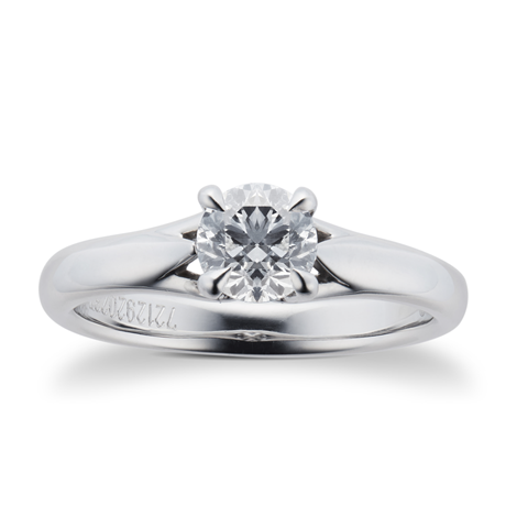 Ena Harkness Engagement Ring 0.70 Carat