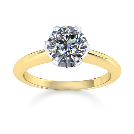Hermione 18ct Yellow Gold 0.70ct Diamond Engagement Ring