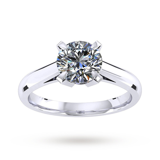 - Ring Size JMappin & Webb Belvedere Engagement Ring 0.50 Carat