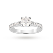 18ct White Gold 1.50 Carat Total Weight Solitaire Ring
