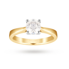 18ct Yellow Gold 1.00 Carat Solitaire Ring