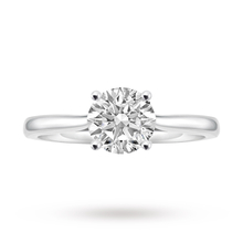 18 Carat White Gold 1.00 Carat Diamond Ring