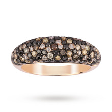 14ct Rose Gold 1.19 Carat Total Weight Eternity Ring