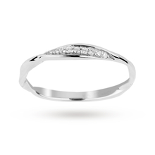 Brilliant Cut Diamond Ring in 9 Carat White Gold