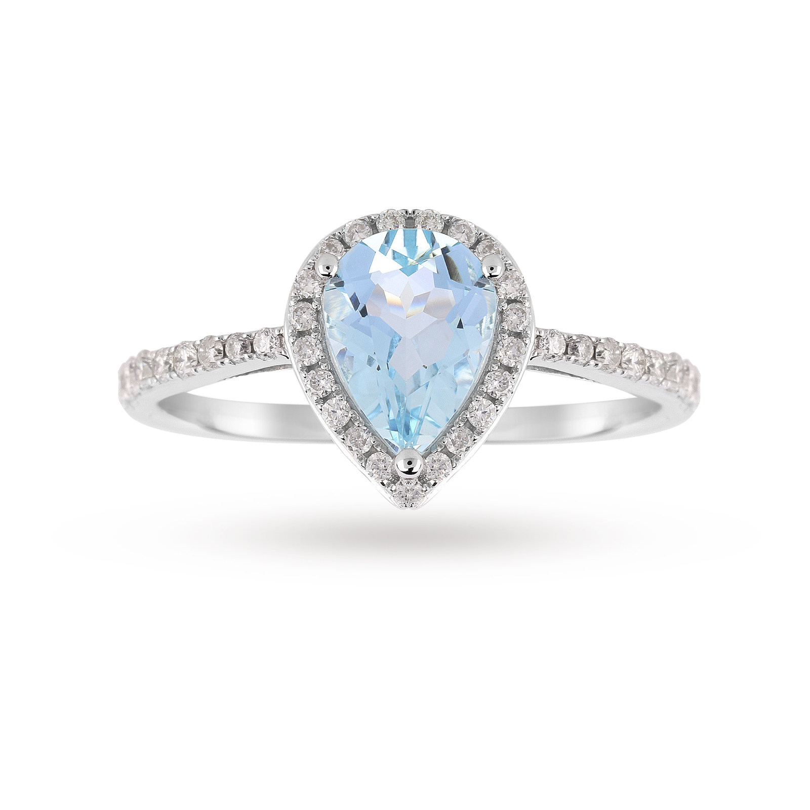 buy cheap gold aquamarine ring compare s jewellery