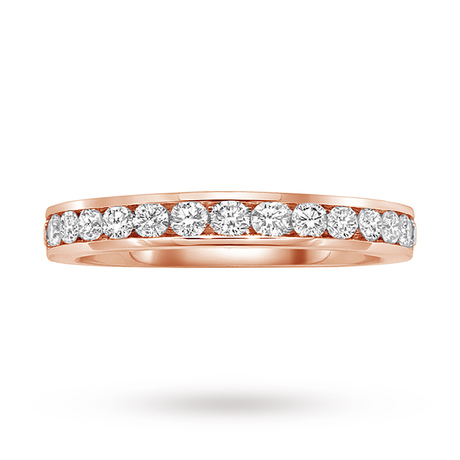 9 Carat White Gold 0.50 Carat Eternity Ring