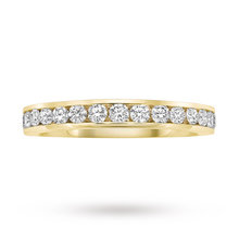 9 Carat Yellow Gold 0.50 Carat Eternity Ring