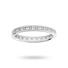 18ct White Gold 0.50cttw Diamond Full Eternity Ring