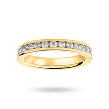 18ct Yellow Gold 1.00cttw Diamond Full Eternity Ring