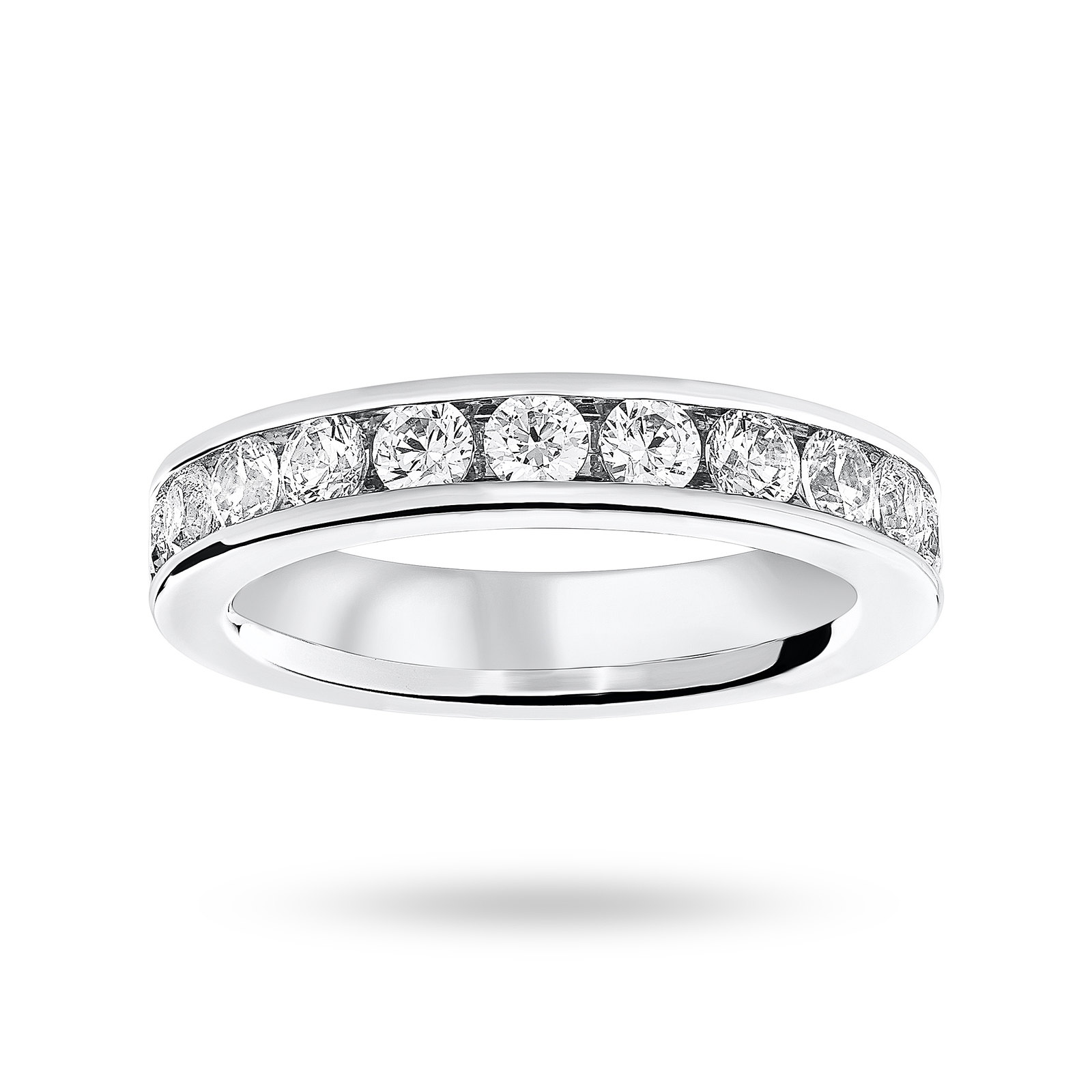 18ct White Gold 2.00cttw Diamond Full Eternity Ring