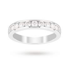 18ct White Gold 1.00 Carat Eternity Ring