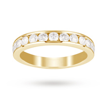 18ct Yellow Gold 1.00 Carat Total Weight Eternity Ring