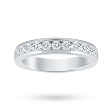 18ct White Gold 1.00cttw Diamond Half Eternity Ring