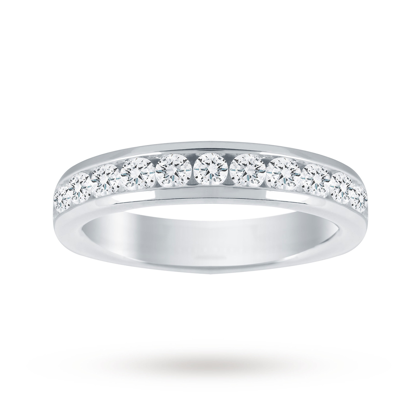 18ct White Gold 1.00cttw Diamond Eternity Ring