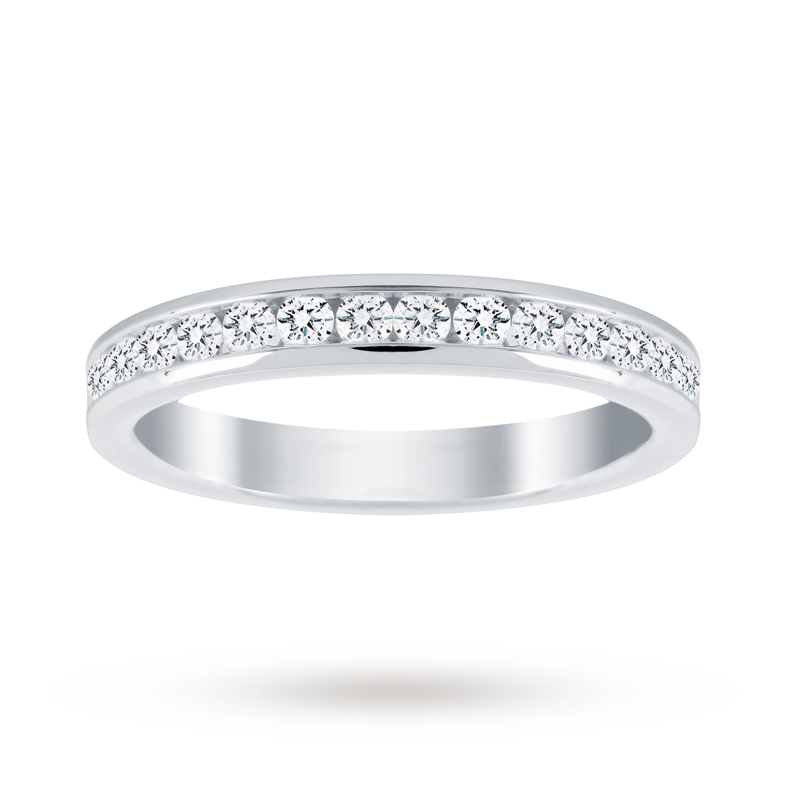 18ct White Gold 0.50cttw Diamond Eternity Ring