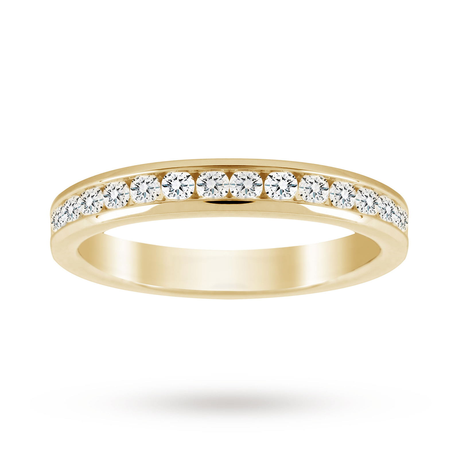 18ct Yellow Gold 0.50cttw Diamond Eternity Ring