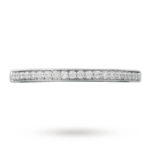 Canadian Ice Collection Brilliant Cut 0.27 Total Carat Weight Diamond Wedding Ring in 18 Carat White Gold