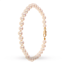 9ct Gold 5-5.5mm Pearl Bracelet