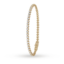 9ct Yellow Gold 2.00ct Diamond Bracelet