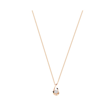 9ct Rose Gold 0.15cttw Diamond Swoop Pendant