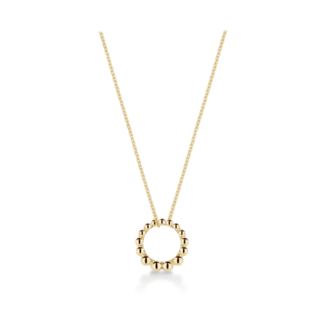 Sonnet 18ct Yellow Gold Loop Pendant
