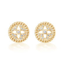 Empress 10mm Stud Earrings