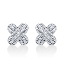Mappin & Webb Beaumont Kiss Earring Studs