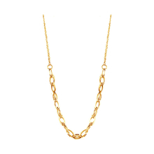9ct Yellow Gold Multi Link Chain Necklace