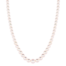 Akoya Pearl Graduated Necklace