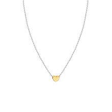 Yellow Gold Plated Tiny Heart Necklace