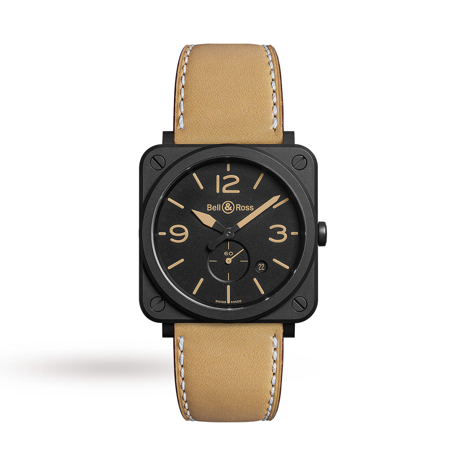 Bell & Ross BRS Heritage Mens Watch