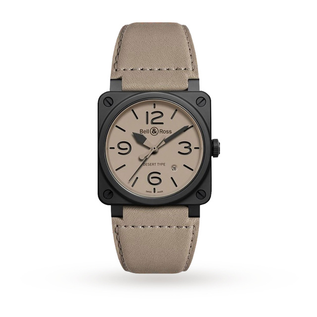 Bell & Ross BR03 Desert Type Mens Watch