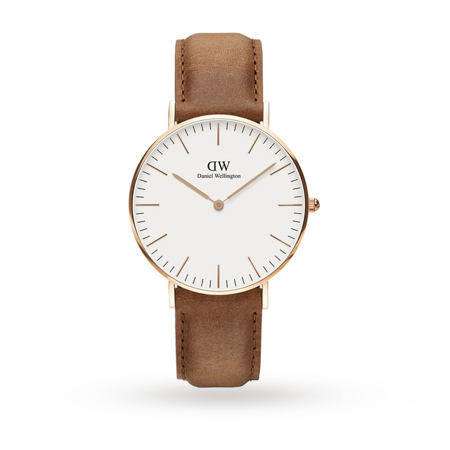 Daniel Wellington Men's Classic 36mm Durham Watch