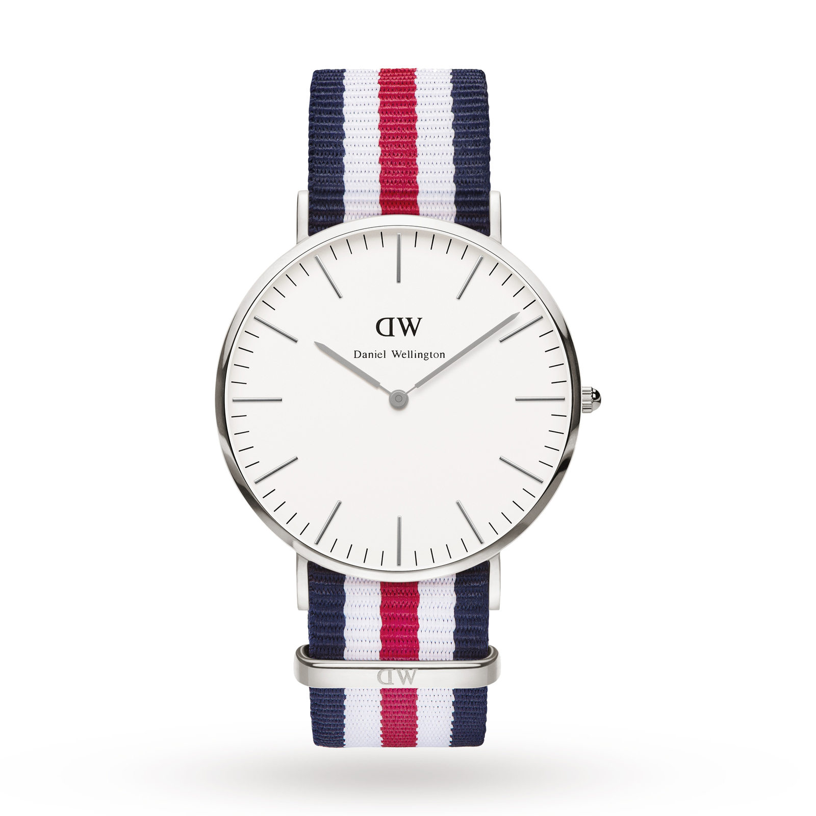Daniel Wellington Men's Canterbury Silver 40mm Watch