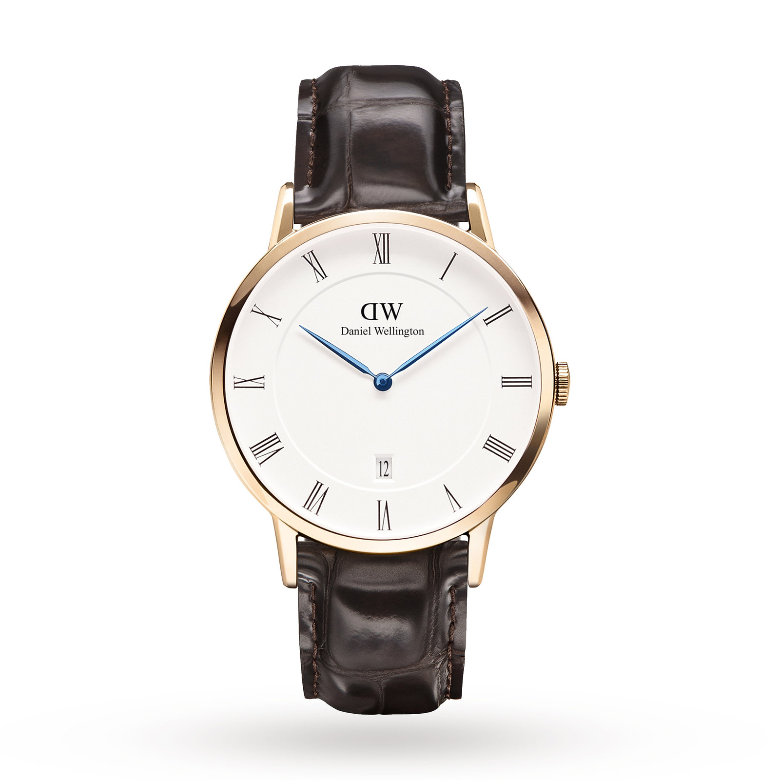 Daniel Wellington Men's Dapper 38mm York Rose Watch