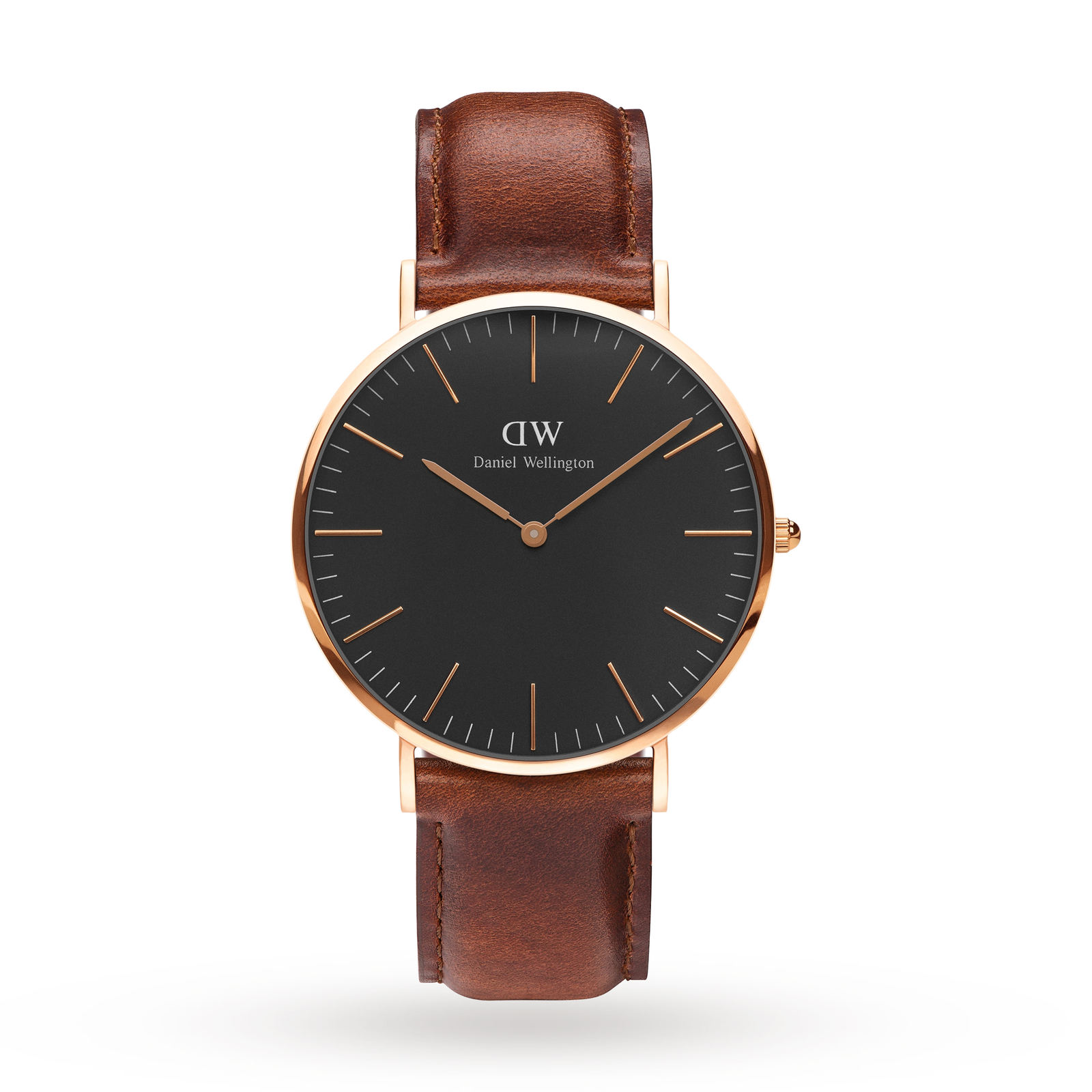 Daniel Wellington Unisex Classic Black St Mawes Watch 40mm Watch