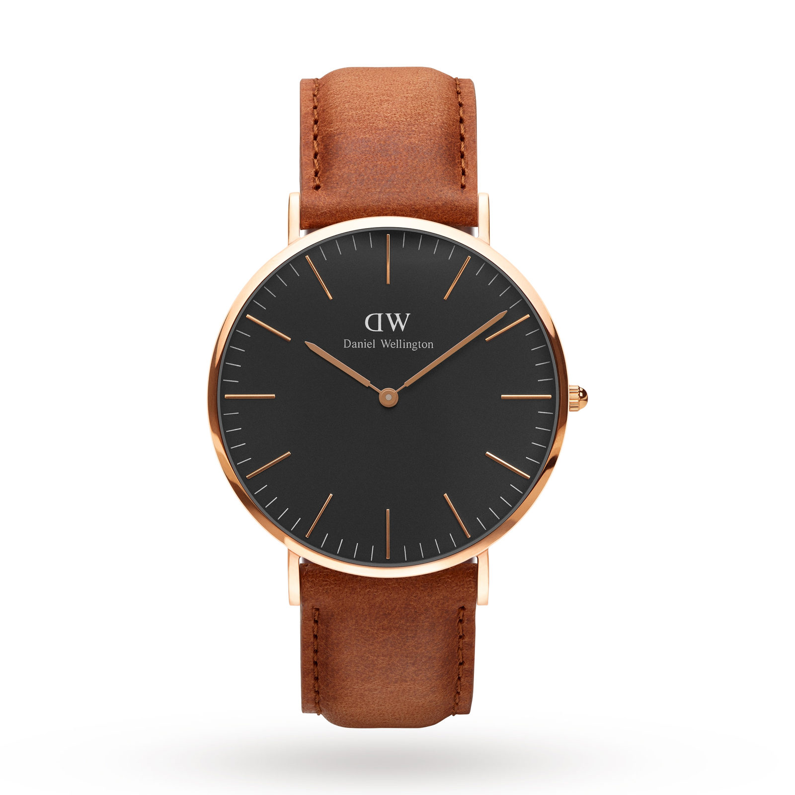 Daniel Wellington Unisex Classic Black Durham Watch 40mm Watch