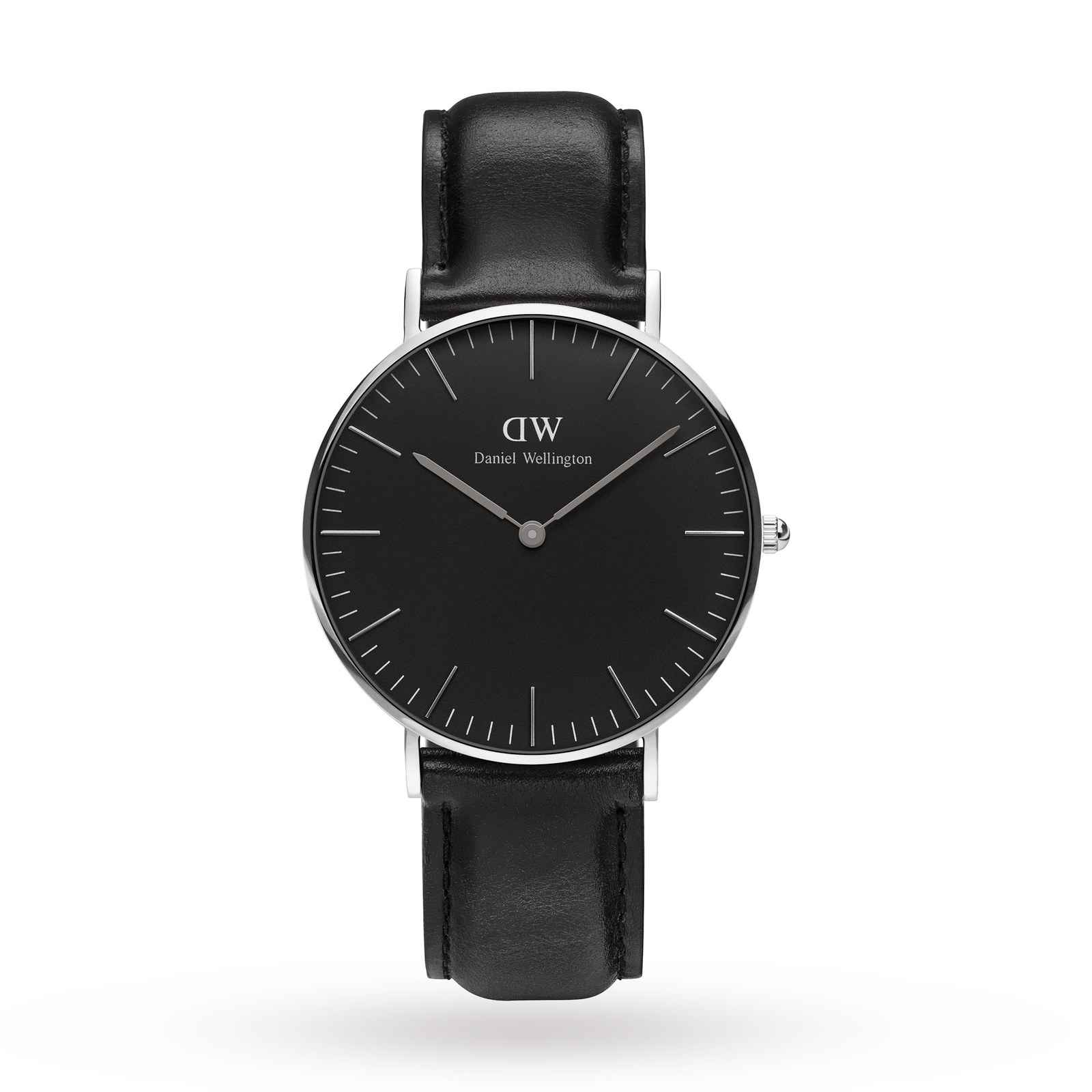 Daniel Wellington Men's Classic Black Sheffield Watch 36mm Watch