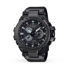 Casio Men's G-Shock MT-G GPS Aged Silver Alarm Chronograph Watch