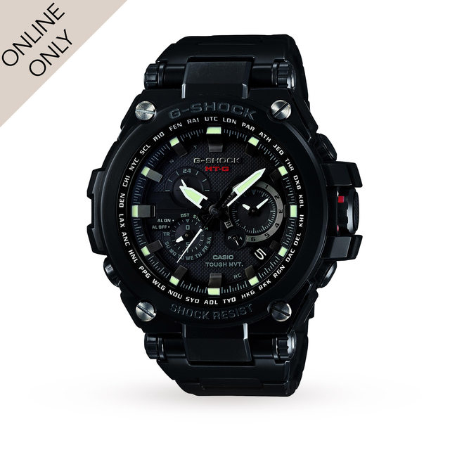 Casio Mens GShock Premium Alarm Chronograph Radio Controlled Watch