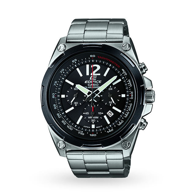 Mens Casio Edifice Chronograph Solar Watch