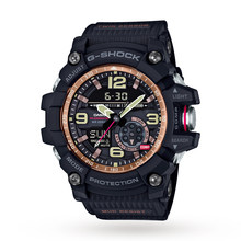 Casio G-Shock Mudmaster Master Of G Vintage Black And Alarm Chronograph Watch