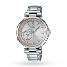 Casio Ladies' Sheen Time Ring Bluetooth Hybrid Smartwatch Alarm Watch