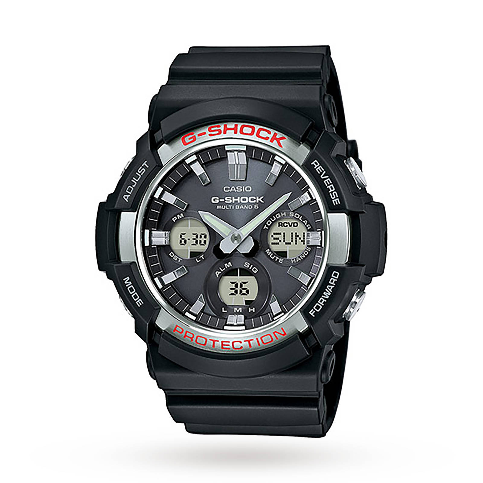 Casio G-Shock Waveceptor Alarm Chronograph Watch